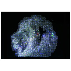Картина с кристаллами Swarovski «Лев большой»