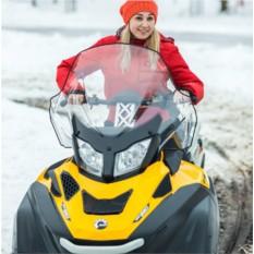 Катание на 2-местном снегоходе для двоих (60 минут)