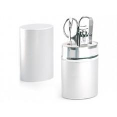 Маникюрный набор из 4 предметов в алюминиевом тубусе