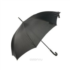 Черный мужской зонт-трость Vogue