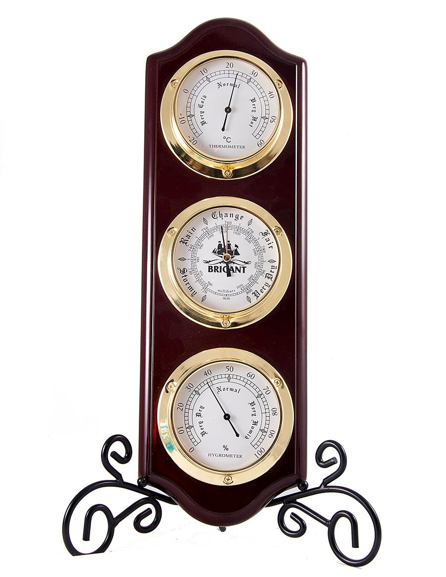 Метеостанция Brigant - термометр, барометр, гигрометр
