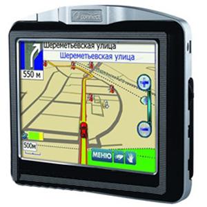 GPS навигатор «AutoNavigator 3000» (с картой)