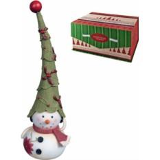 Новогодняя статуэтка Снеговик