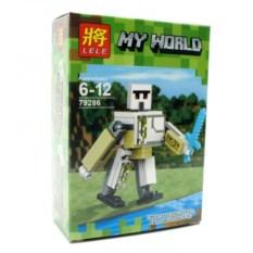 Конструктор Lele Minecraft Железный голем