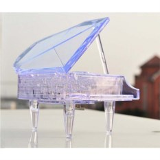 Прозрачная 3D головоломка Рояль