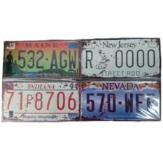Табличка Автомобильный номер