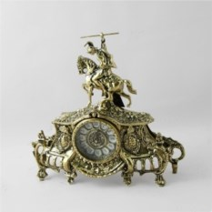 Бронзовые каминные часы Коша