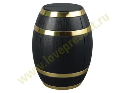 Набор аксессуаров для вина в футляре в виде бочонка