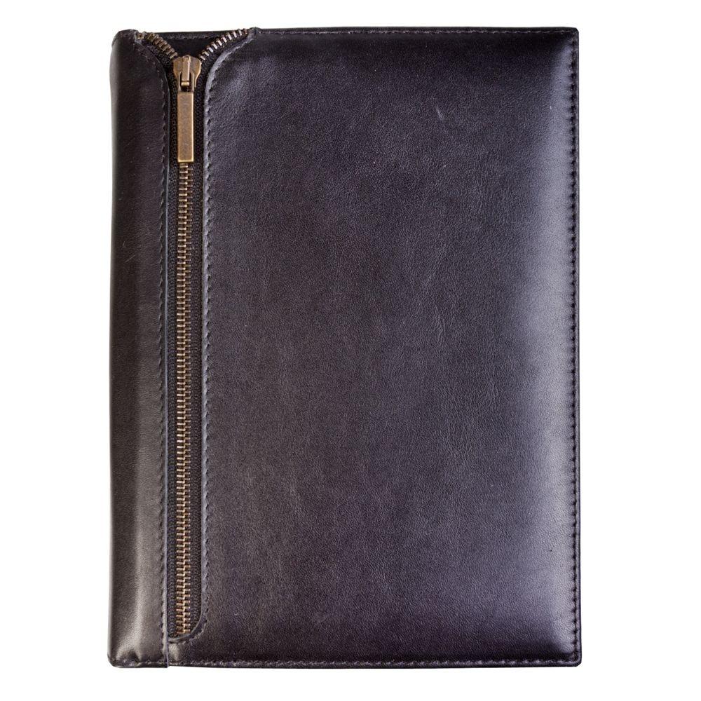 Ежедневник Zip, недатированный, черный