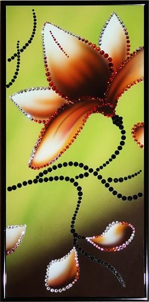 Картина с кристаллами Swarovski Магнолия-3