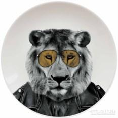 Тарелка Wild Dining Лев