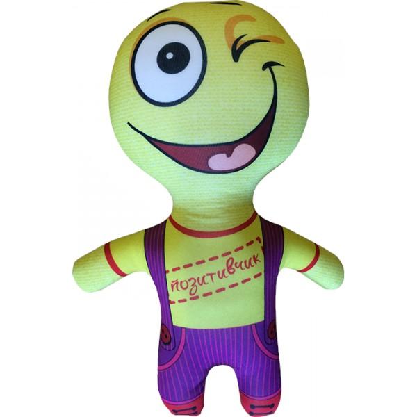 Подушка-игрушка На позитиве