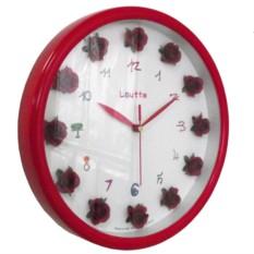 Настенные часы La Mer Розовые розы
