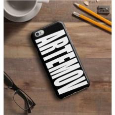 Черный именной чехол для iPhone Знаменитость