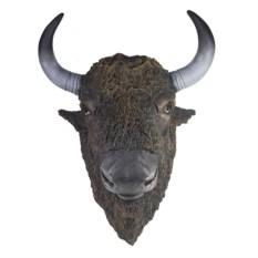 Ландшафтная фигурка для дачи и сада Голова бизона