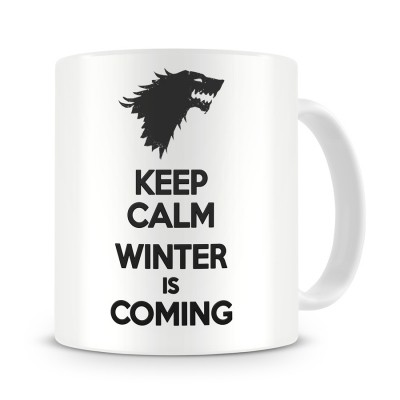 Кружка Keep calm, winter is coming
