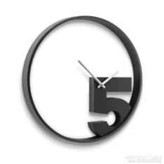 Настенные черные часы Тake-5