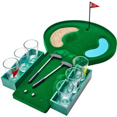 Алкогольная игра «Пьяный гольф» со стопками