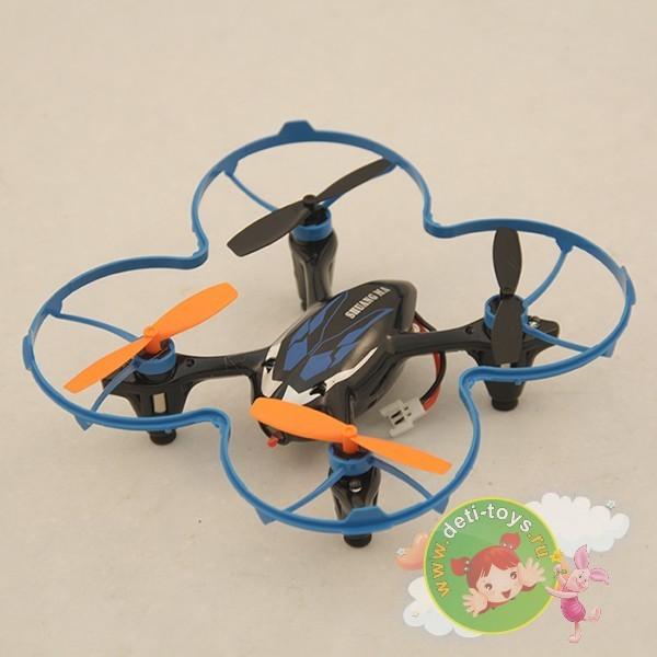 Радиоуправляемый квадрокоптер-дрон с видеокамерой DH9136