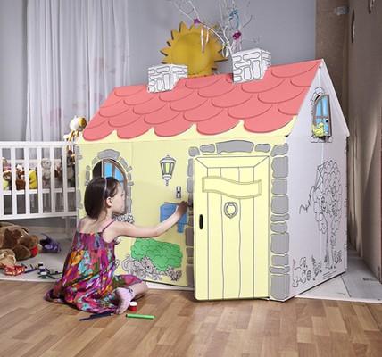 Детский картонный домик Май дом