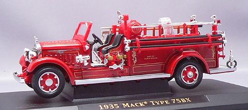 пожарная машина МАК ТАЙП 75BX 1/43 от Yat Ming