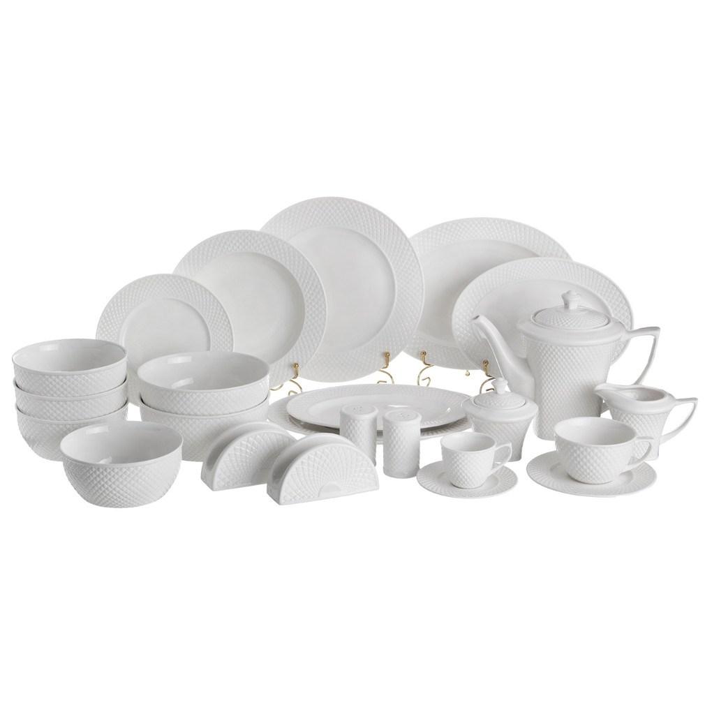 Столово-чайный сервиз на 12 персон Диаманд (103 предмета)