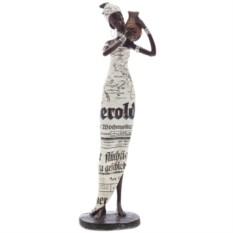 Декоративная фигурка Африканка с кувшином