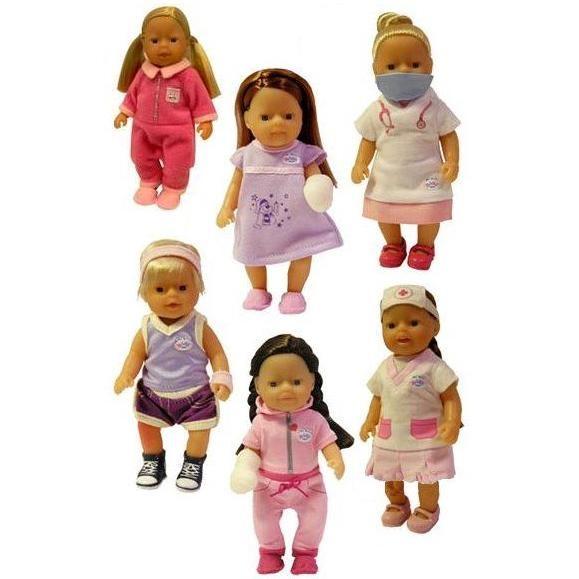Куклы mini baby born Врачи и пациенты