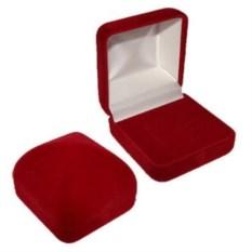 Ювелирная бархатная коробочка Куб