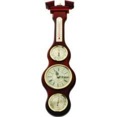 Прибор 4 в 1: барометр, гигрометр, термометр и часы