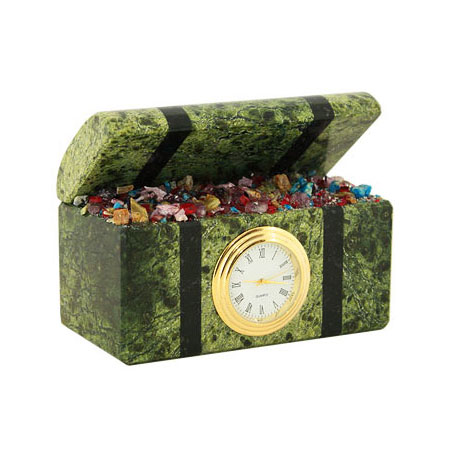 Часы «Уральские самоцветы»