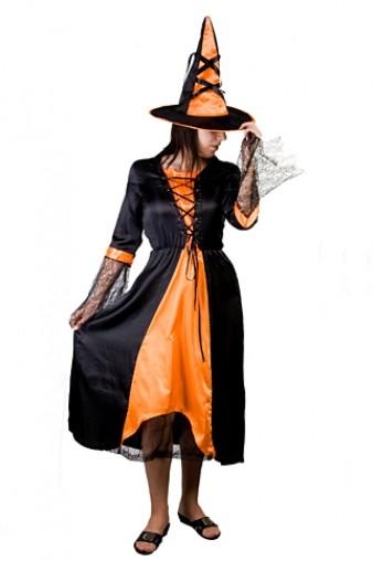 Маскарадный костюм для взрослых Нарядная ведьмочка
