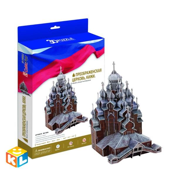 3D Пазл  Преображенская церковь. Кижи