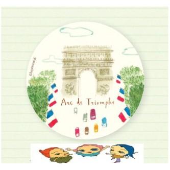 Карманное зеркало Arc de Triomphe