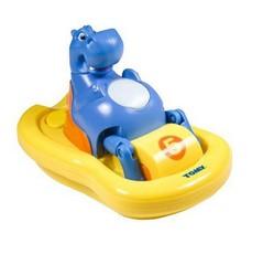 Игрушка для ванной Бегемотик на катамаране