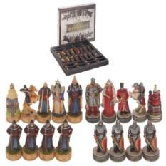Шахматные фигуры Русские и татаро-монголы