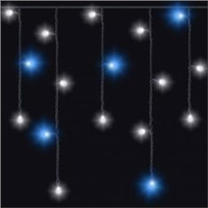 Светодиодная сине-белая гирлянда «Дождь» Mister Christmas