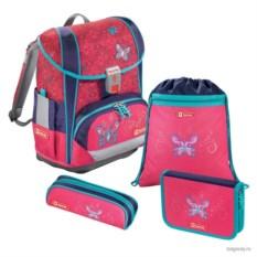 Розовый школьный ранец Step by Step School Light 2