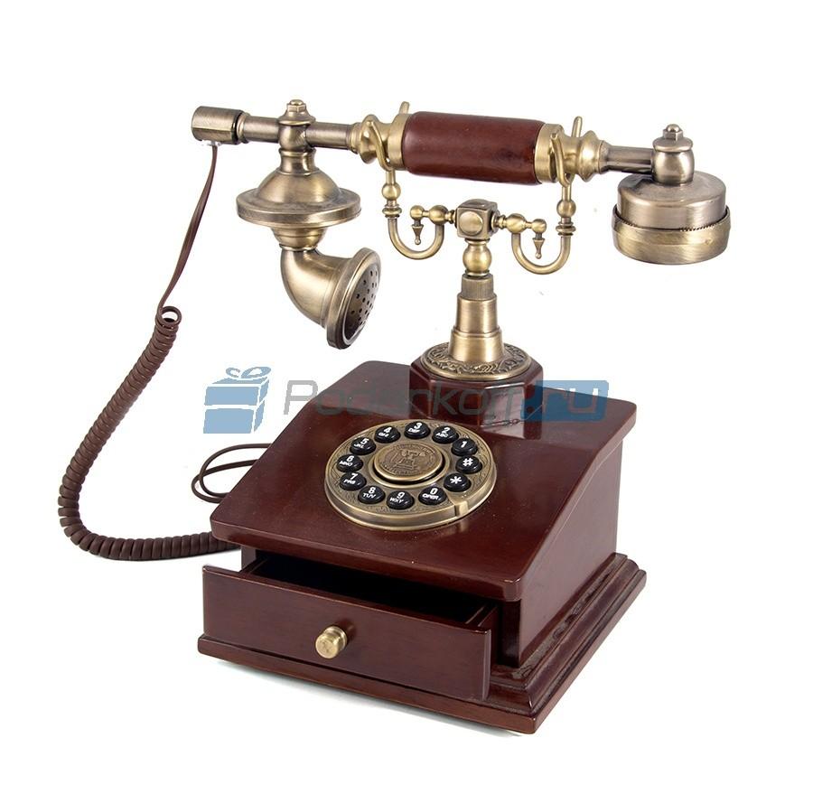 Кнопочный ретро-телефон Харпер