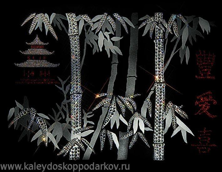 Картина с кристаллами Swarovski Пожелание благополучия