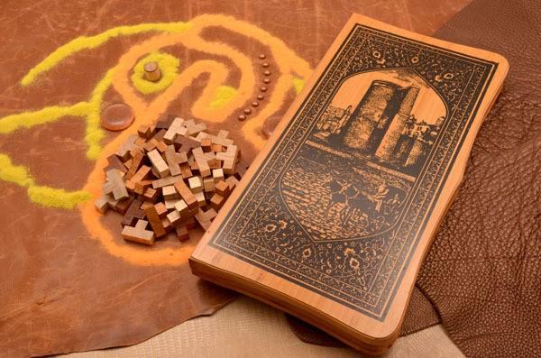 Набор настольных игр 3 в 1 (нарды, шахматы, шашки)
