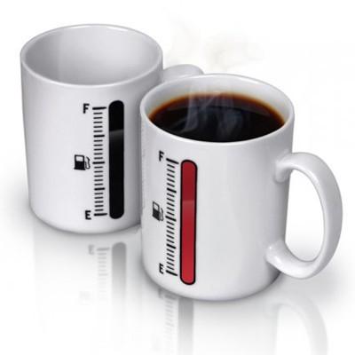 «Полный бак». Чашка для горячего с индикатором