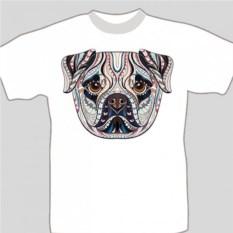 Подарочная футболка «Мопс»