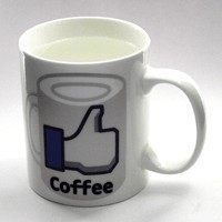 Кружка FACEBOOK I like coffee