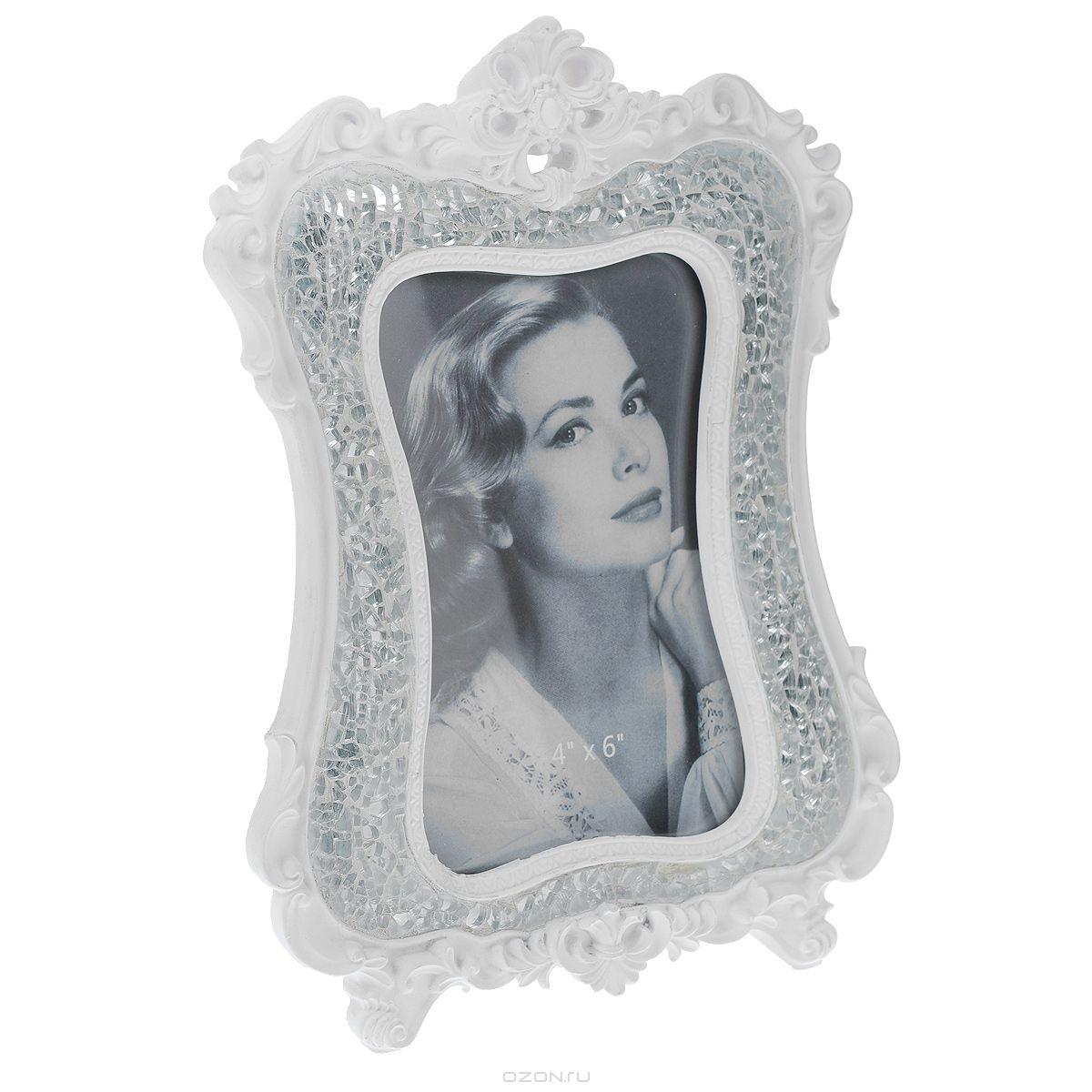 Фоторамка Кружево, белая, (10х23,5 см)