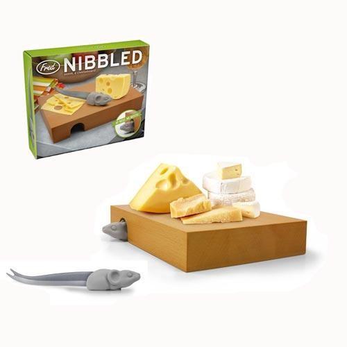 Кухонный набор Nibbled (доска, нож)