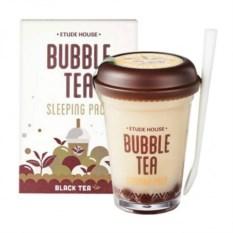 Ночная маска для лица Bubble Tea Черный чай