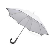 Белый зонт-трость Balmain