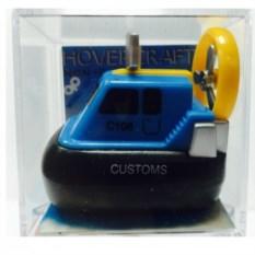Заводная игрушка Полицейская лодка (голубая)