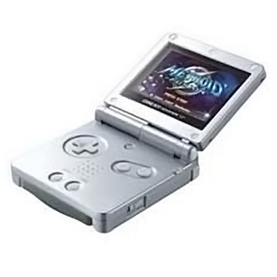 Nintendo gameboy Advance SP серебристый Сверхяркий